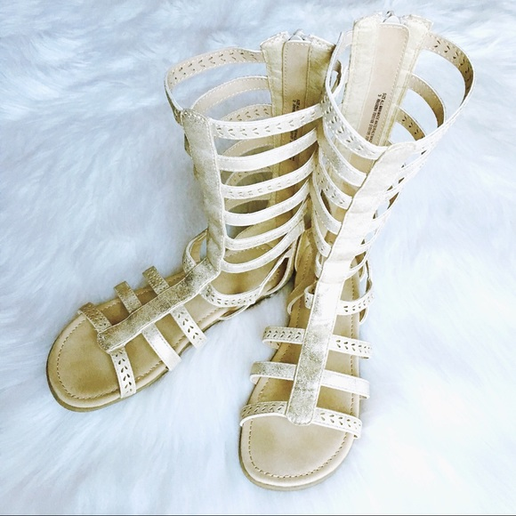 Children's Place Other - ✨3/ $30✨ CP | Gladiator Cage Sandals Sz 3 EUC